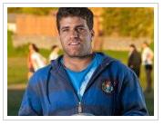 Retrato Sebastián Berti, Ex seleccionado Nacional de Rugby Head coach Old John's (2012) Para Revista Casa Etc. Sección Estilo Etc