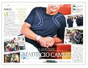 Retrato Mauricio Camus Arquitecto y Deportista Élite Para: Diario El Sur, El Albun de